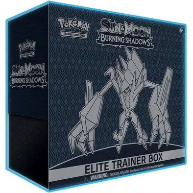 Pokemon - Burning Shadows Elite Trainer Box available at 401 Games Canada