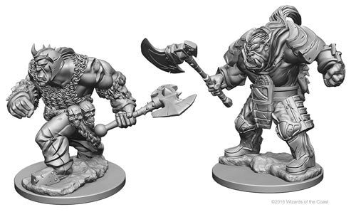 Dungeons and Dragons Nolzur's Marvelous Unpainted Minis: Orcs