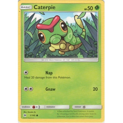 Buy Caterpie - 1/149 and more Great Pokemon Products at 401 Games