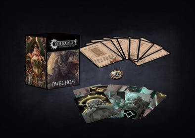 Conquest - Dweghom - Army Card Set available at 401 Games Canada