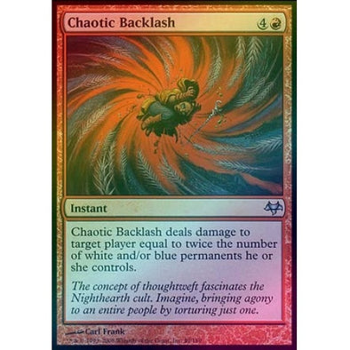 Chaotic Backlash (Foil) (EVE) available at 401 Games Canada