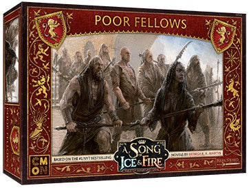 Buy A Song of Ice and Fire - Tabletop Miniatures Game - House Lannister - Lannister Poor Fellows (Pre-Order) and more Great Tabletop Wargames Products at 401 Games