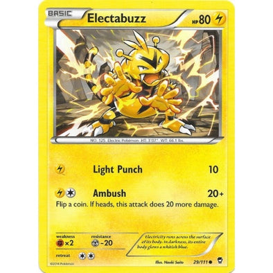 Buy Electabuzz - 29/111 and more Great Pokemon Products at 401 Games