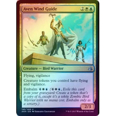 Aven Wind Guide (Foil) (AKH) available at 401 Games Canada