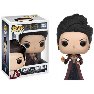 Buy Pop! Once Upon A Time - Regina with Fireball and more Great Funko & POP! Products at 401 Games