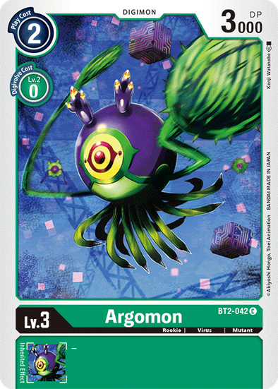 Argomon (BT2-042) available at 401 Games Canada