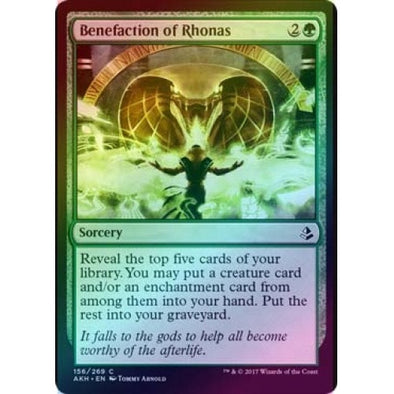 Benefaction of Rhonas (Foil) (AKH) available at 401 Games Canada