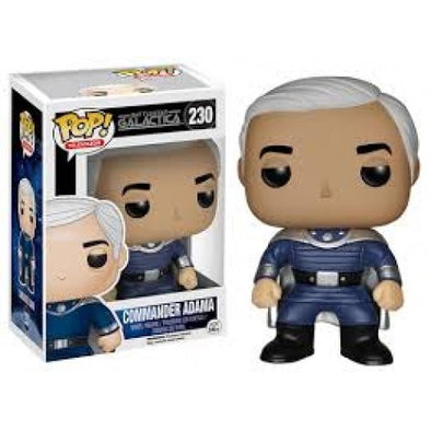 Buy Pop! Battlestar Galactica - Commander Adama and more Great Funko & POP! Products at 401 Games