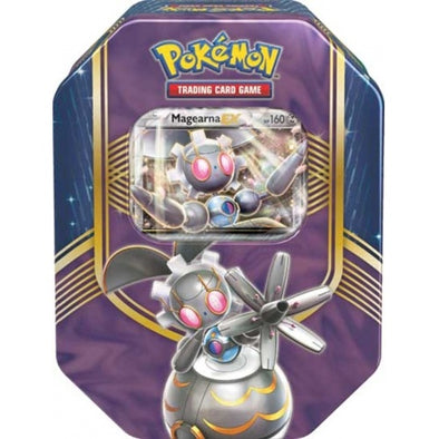 Pokemon - Battle Heart Tin - Magearna EX available at 401 Games Canada