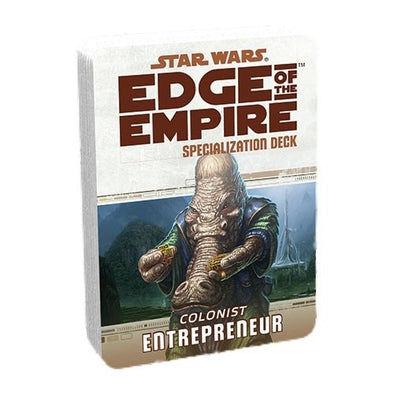 Star Wars: Edge of the Empire - Specialization Deck - Colonist Entrepreneur - 401 Games