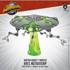 Buy Monsterpocalypse Miniatures Game - Martian Menace - Ares Mothership and more Great Tabletop Wargames Products at 401 Games