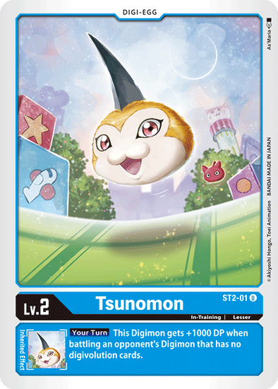 Tsunomon (ST2-01) available at 401 Games Canada