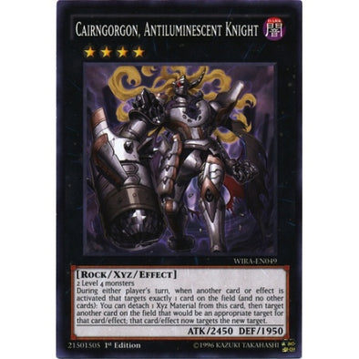Cairngorgon, Antiluminescent Knight (WIRA) available at 401 Games Canada
