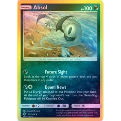 Buy Absol - 81/145 - Reverse Foil and more Great Pokemon Products at 401 Games