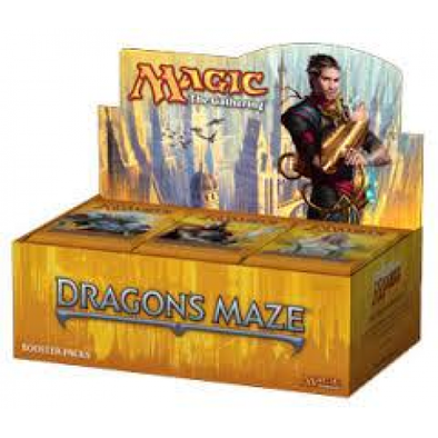Buy MTG - Dragon's Maze - Chinese Booster Box and more Great Magic: The Gathering Products at 401 Games