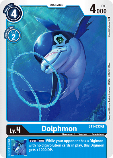 Dolphmon (BT1-033) available at 401 Games Canada