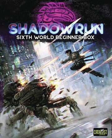 Shadowrun 6th Edition - Beginner Box (Pre-Order)