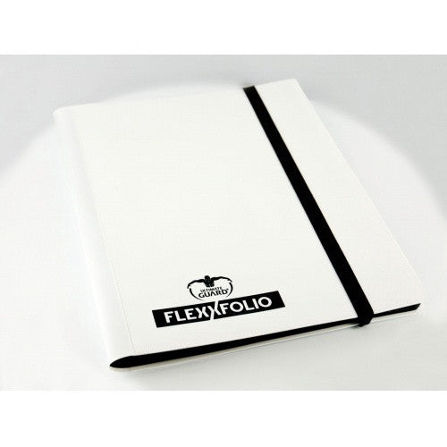 Buy Ultimate Guard - 9 Pocket Flexxfolio - White and more Great Sleeves & Supplies Products at 401 Games