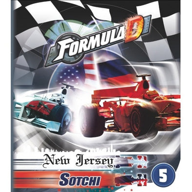 Buy Formula D - Circuits 5 - New Jersey and more Great Board Games Products at 401 Games