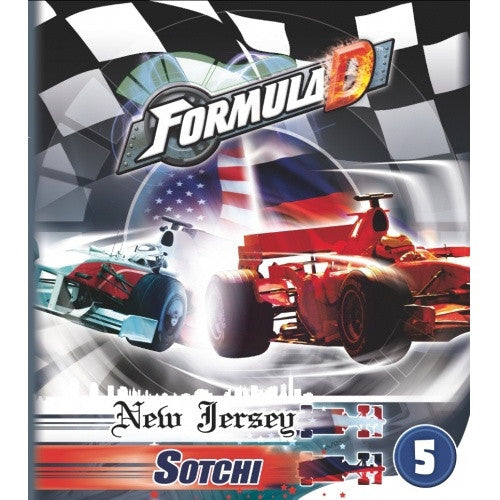 Formula D - Circuits 5 - New Jersey available at 401 Games Canada