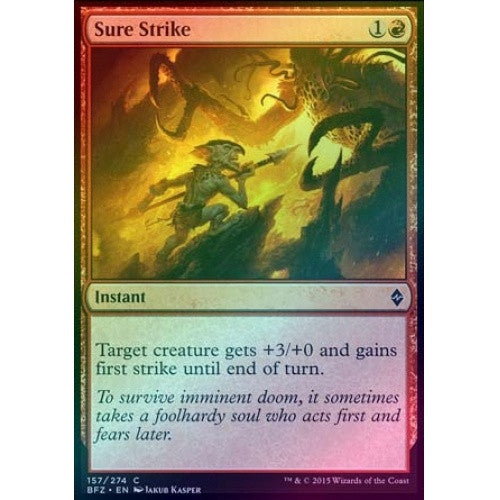 Sure Strike (Foil) (BFZ) - 401 Games