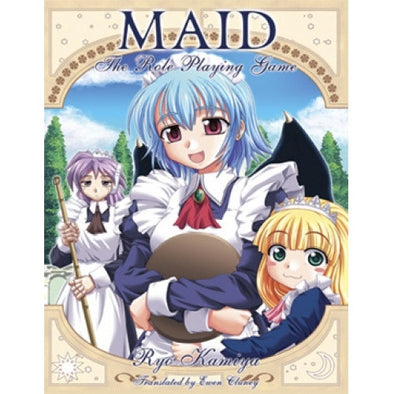 Maid : The Role-Playing Game - Core Rulebook available at 401 Games Canada