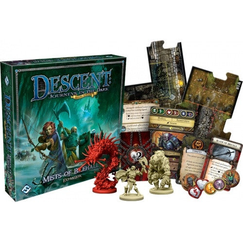 Descent - 2nd Edition - Mists of Bilehall - 401 Games