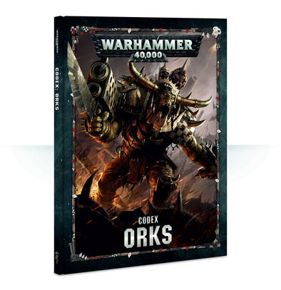 Warhammer 40,000 - Codex: Orks - 8th Edition available at 401 Games Canada