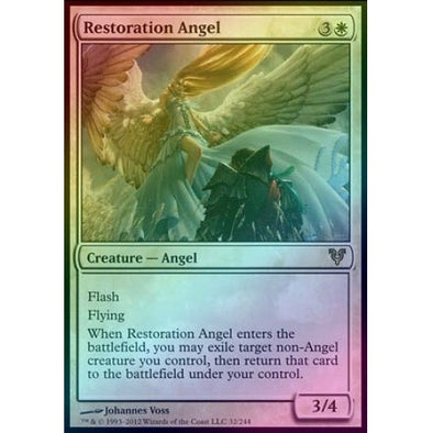 Restoration Angel (Foil) (AVR) available at 401 Games Canada