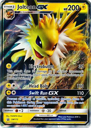 Buy Jolteon-Gx SM173 and more Great Pokemon Products at 401 Games