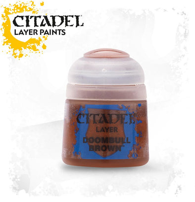 Buy Citadel Layer - Doombull Brown and more Great Games Workshop Products at 401 Games