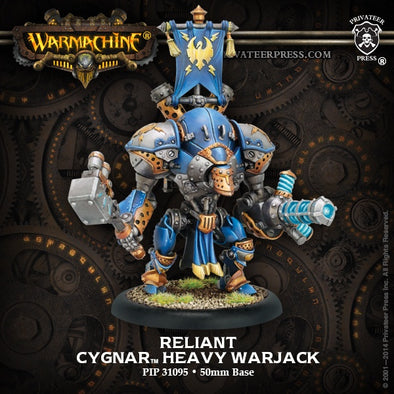 Buy Warmachine - Cygnar - Reliant and more Great Tabletop Wargames Products at 401 Games