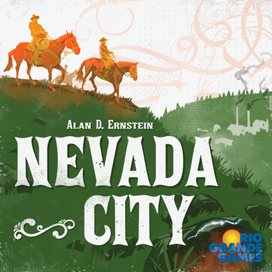 Buy Nevada City (Pre-Order) and more Great Board Games Products at 401 Games