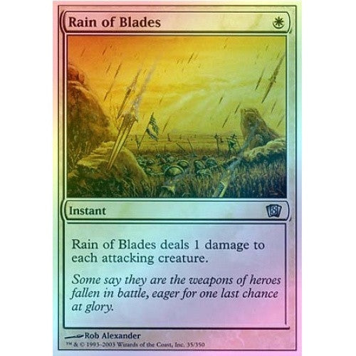 Rain of Blades (Foil) available at 401 Games Canada