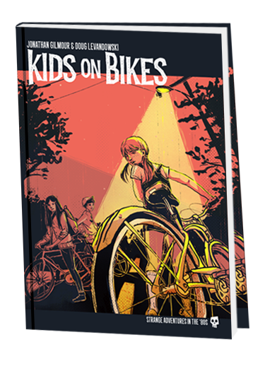 Buy Kids on Bikes - Role Playing Game - Core Rulebook and more Great RPG Products at 401 Games