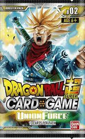 Dragon Ball Super Card Game - Union Force - Booster Pack