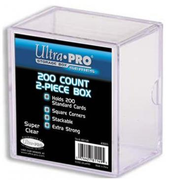 Buy Ultra Pro - 2-Piece Card Storage Box - 200ct and more Great Sleeves & Supplies Products at 401 Games