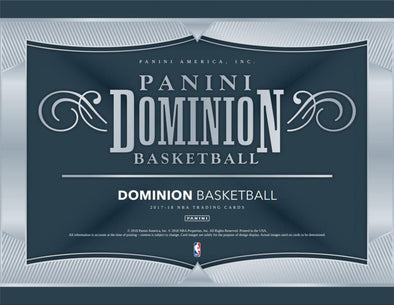 2017-18 Panini Dominion Basketball Hobby Box - 401 Games