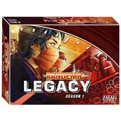 Buy Pandemic Legacy - Season 1 - Red and more Great Board Games Products at 401 Games