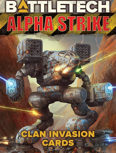Battletech - Alpha Strike - Clan Invasion Cards available at 401 Games Canada