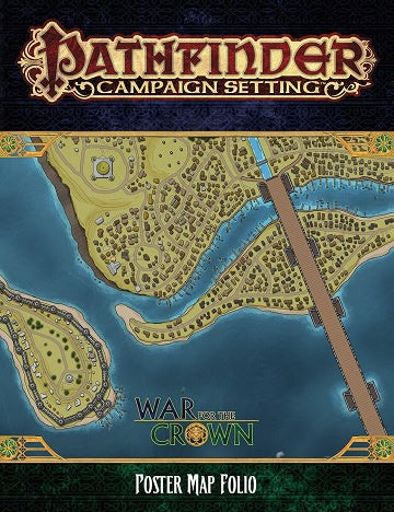 Pathfinder - Campaign Setting - War for the Crown Poster Map Folio