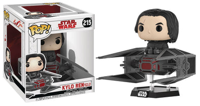 Pop! 6 Inch - Star Wars - Kylo Ren with TIE Fighter