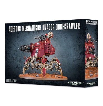 Buy Warhammer 40,000 - Adeptus Mechanicus - Adeptus Mechanicus Onager Dunecrawler and more Great Games Workshop Products at 401 Games