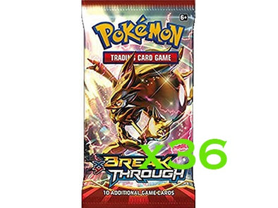 Pokemon - Breakthrough - 36 Booster Pack Bundle available at 401 Games Canada