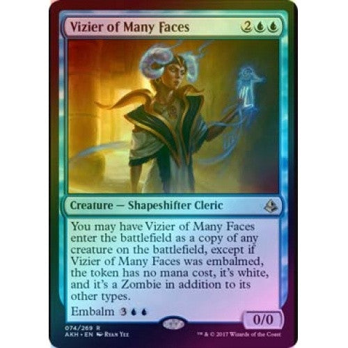 Vizier of Many Faces (Foil) (AKH) available at 401 Games Canada