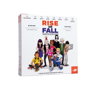 Buy Rise Or Fall and more Great Board Games Products at 401 Games