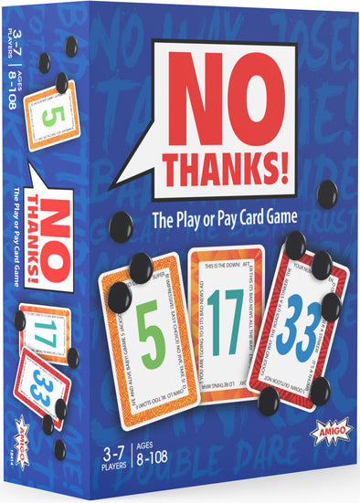 Buy No Thanks! and more Great Board Games Products at 401 Games