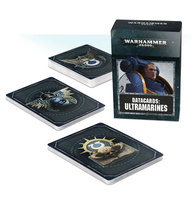 Warhammer 40,000 - Datacards: Ultramarines - 8th Edition available at 401 Games Canada