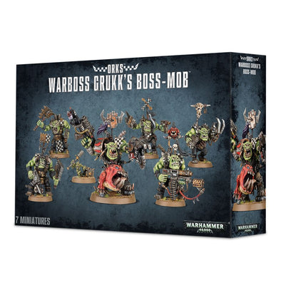 Warhammer 40,000 - Orks - Warboss Grukk's Boss-Mob available at 401 Games Canada