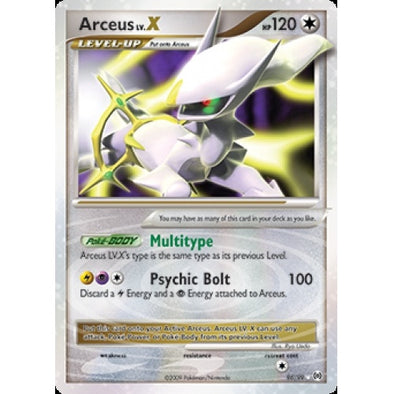 Buy Arceus LV.X - 96/99 and more Great Pokemon Products at 401 Games